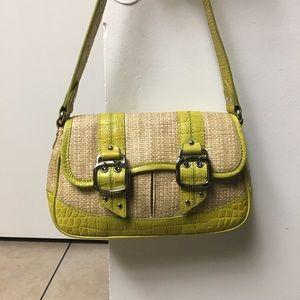 Colehaan Amanda straw bag for women